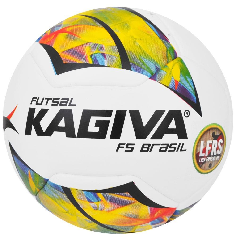kit 03 bolas de futsal kagiva f5 brasil pro - da liga futsal. Carregando  zoom. a9fac3fee1b71