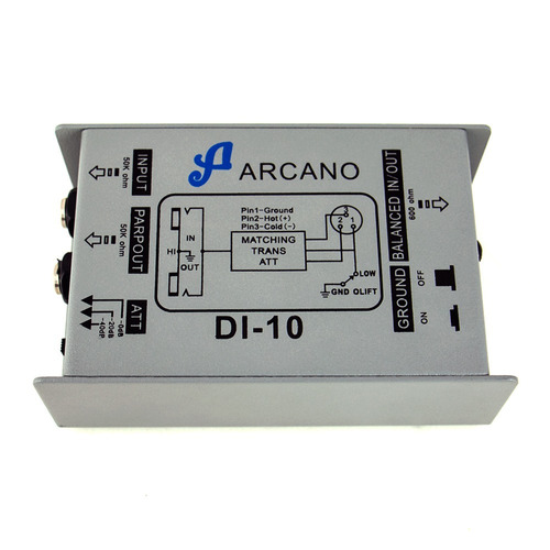 kit 03 direct box passivo arcano di-10 custo x beneficio