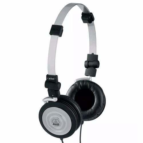 kit 03 fone profissional akg headphone k414 p original