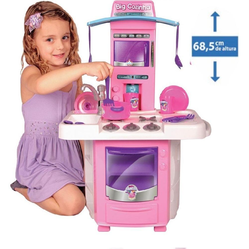 Kit 03 Nova Big Cozinha Infantil Completa Big Star R 242 99 Em