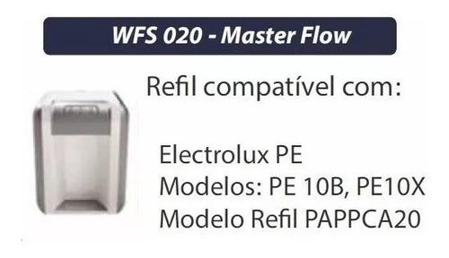 kit 03 refil filtro purificador electrolux pe10b pe10x
