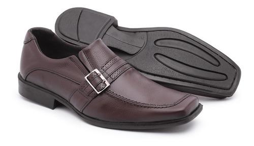 e1e70fcee Kit 03 Sapatos Sociais Masculinos Conforto Couro Legitimo - R$ 118 ...