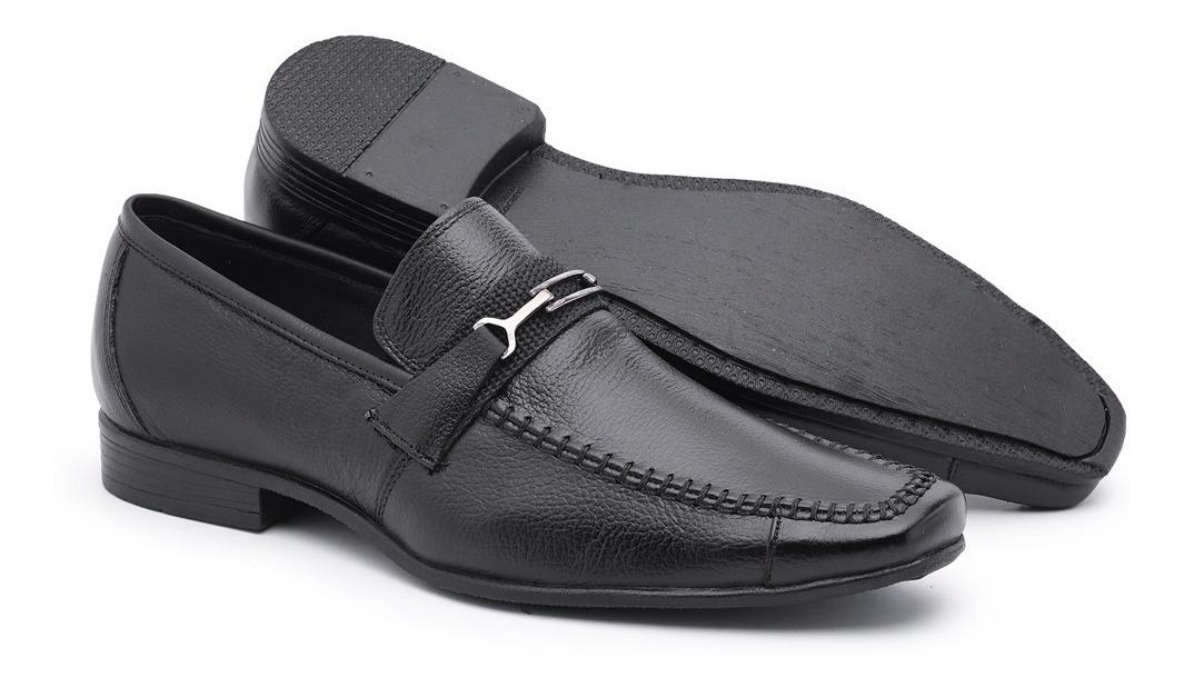 ae852bd8e1 kit 03 sapatos sociais masculinos conforto couro legitimo. Carregando zoom.