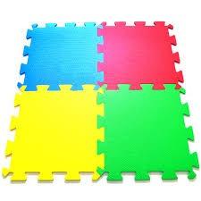 kit 03 tapete tatame placas e.v.a millytoys 4 peças lisas