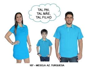 be1652e2427c5d Kit 03 Un Tal Mae Tal Pai Tal Filho Camisa Vestido Polo