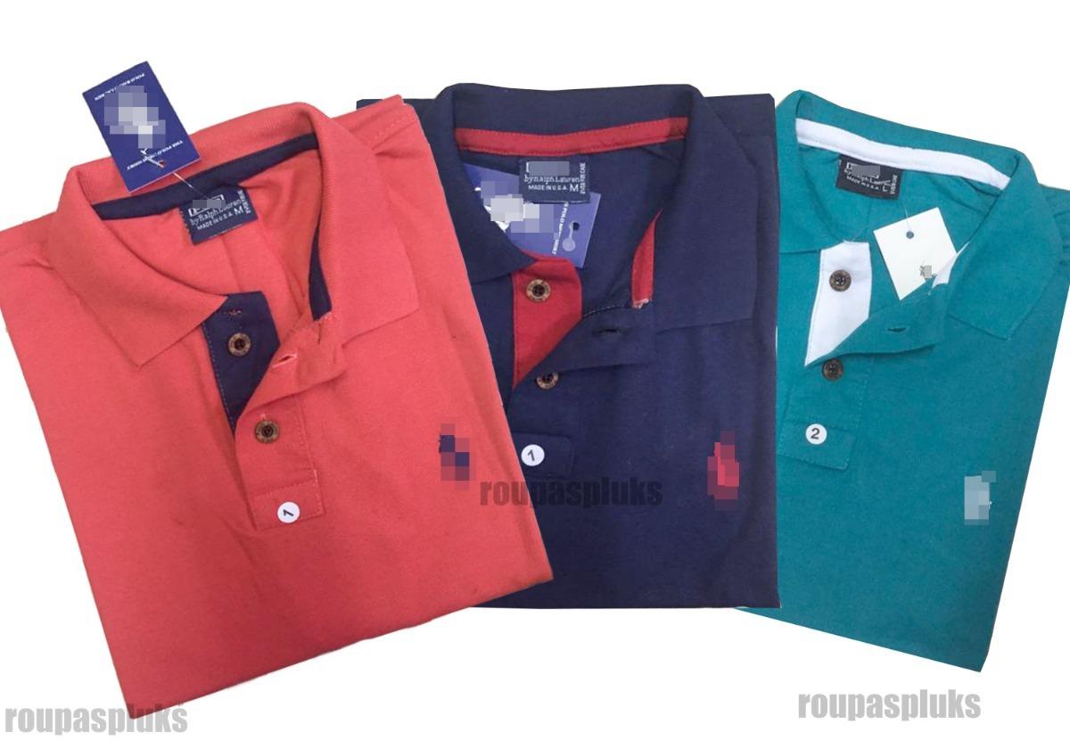 93fe0e9a74b0d kit 04 camisa gola polo masculina algodão piquet ofertas. Carregando zoom.