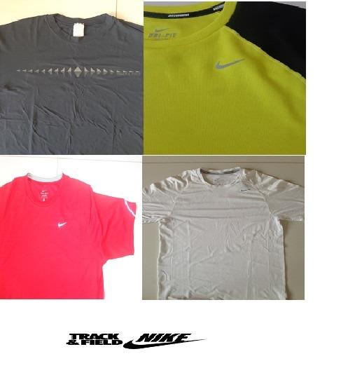 5b4a679e4a218 Kit 04 Camisetas Nike E Track   Field - R  202