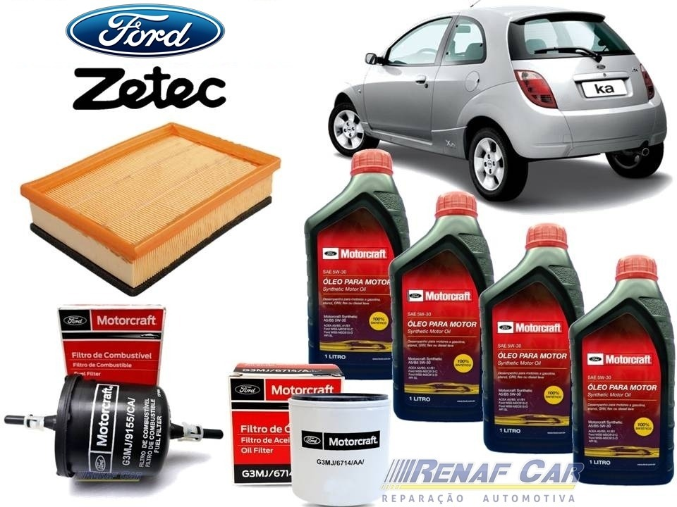 Kit  Litros Oleo W Filtros Ford Ka   Carregando Zoom