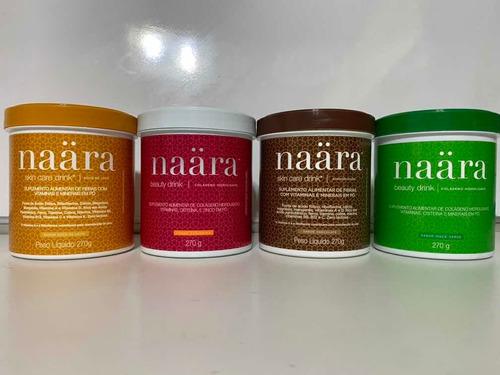 kit 04 näara - chocolate+ doce de leite+maçã verde+tangerina