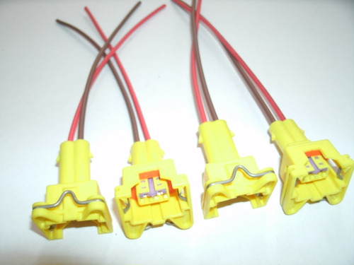 kit 04 plugs. conector bico corsa celta astra meriva/ fiat