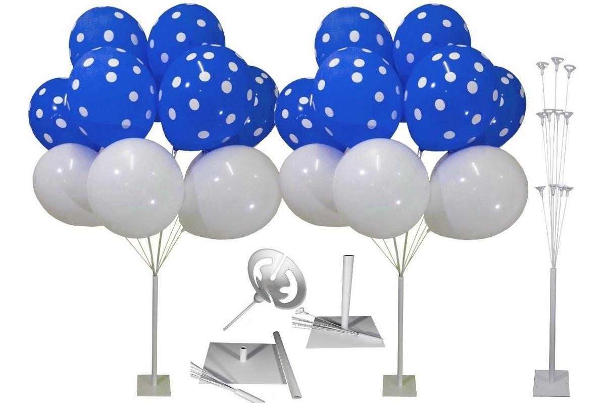 Kit 04 Un Suporte Balão Festa Decoração Bases Efeito Bexigas - R ...