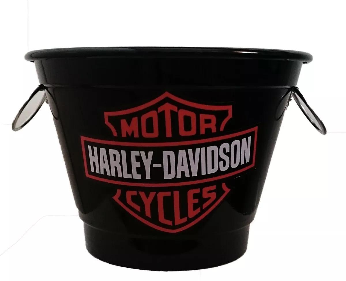 kit 05 balde de gelo alumínio 7 litros harley davidson. Carregando zoom. df43f6a0b5d42