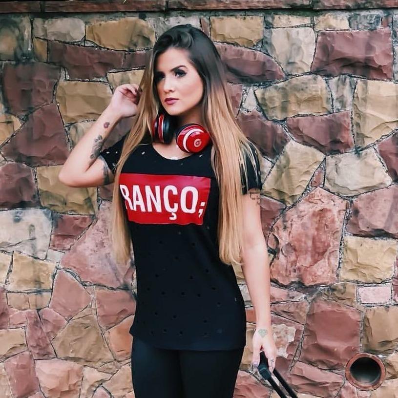 Kit 05 Blusas Femininas T-shirt Camiseta Ranço Promoção - R  149 616bd1d2f26