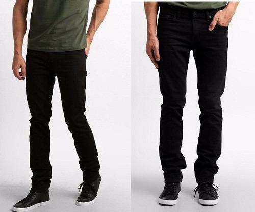 kit 05 calças jeans sarja masculina skinny atacado coloridas