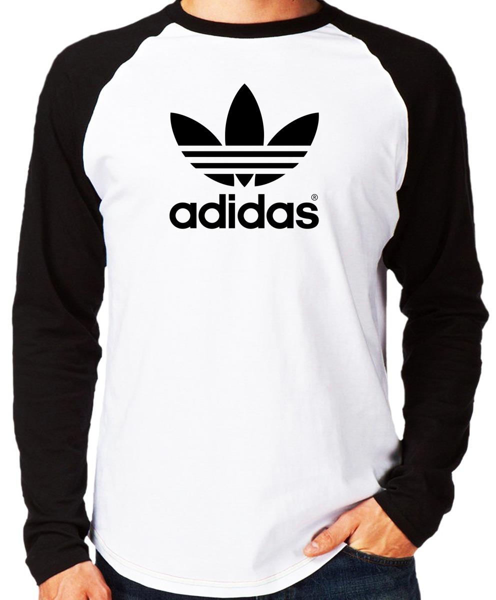 beeed06b60f Kit 05 Camisa Blusa Camiseta adidas Personal Camiseta Raglan - R ...