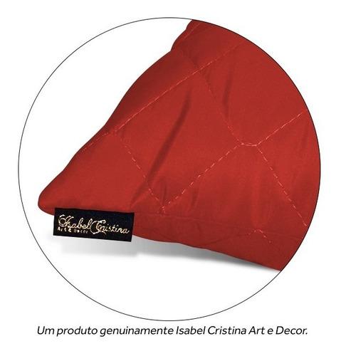 kit 05 capas de almofada decorativa matelada 43x43 c/ zíper