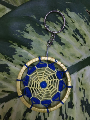 kit 05 chaveiros filtro dos sonhos croche mandala colorida