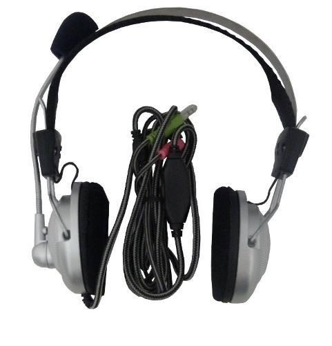 kit 05 fone de ouvido headset gamer para pc ps3 wl-301mv