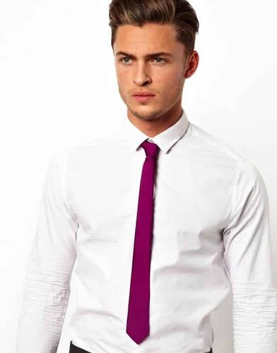 kit 05 gravatas skinny / super skinny