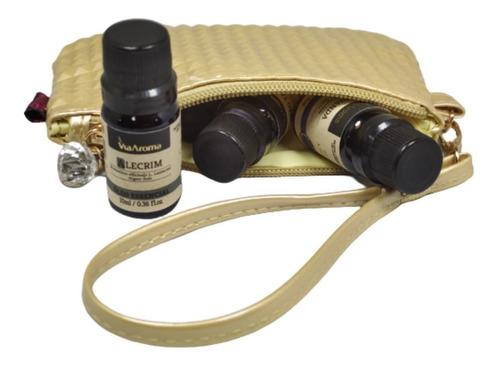 kit 05 óleos essenciais puro via aroma