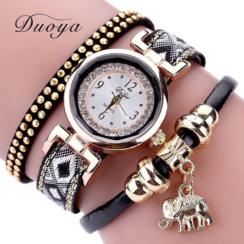 d66151e0f3a kit 05 relógio feminino quartzo pulseira couro barat atacado. Carregando  zoom.