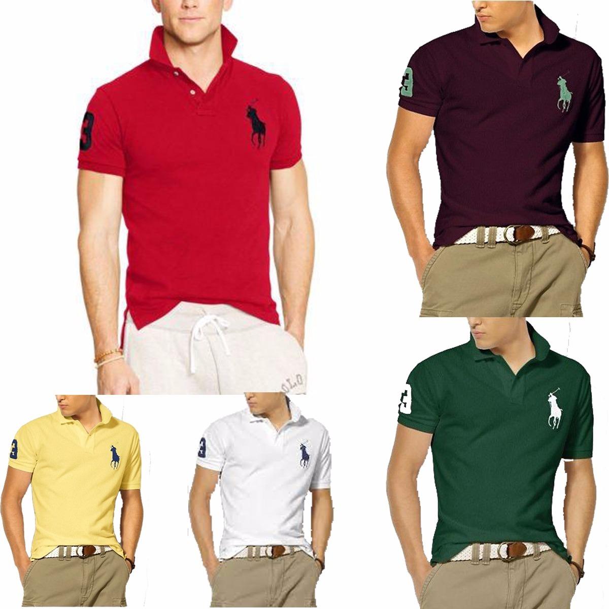 5deb906402 Kit 06 Camisas Camisetas Gola Polo Masculina Atacado Revenda - R ...