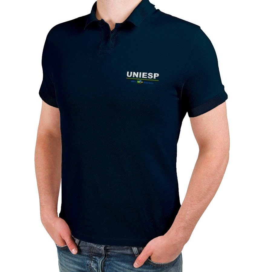 dae49b32c kit 06 camiseta gola polo personalizada empresa bordada. Carregando zoom.