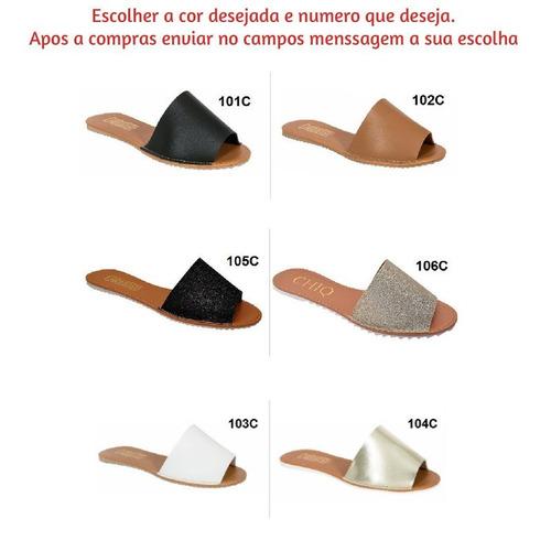 kit 06 chinelo sandalia feminina rasteira atacado revenda