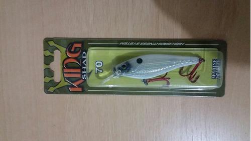 kit 06 iscas variadas marine sports (brinde estojo)