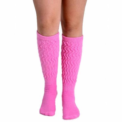 kit 06 pares de meias aerobica colorida fitness academia
