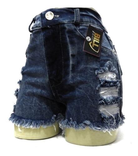 kit 06 short jeans feminino preço de atacado pra revenda