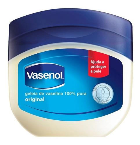 kit 06 unid geléia de vaselina vasenol recuperação intensiva