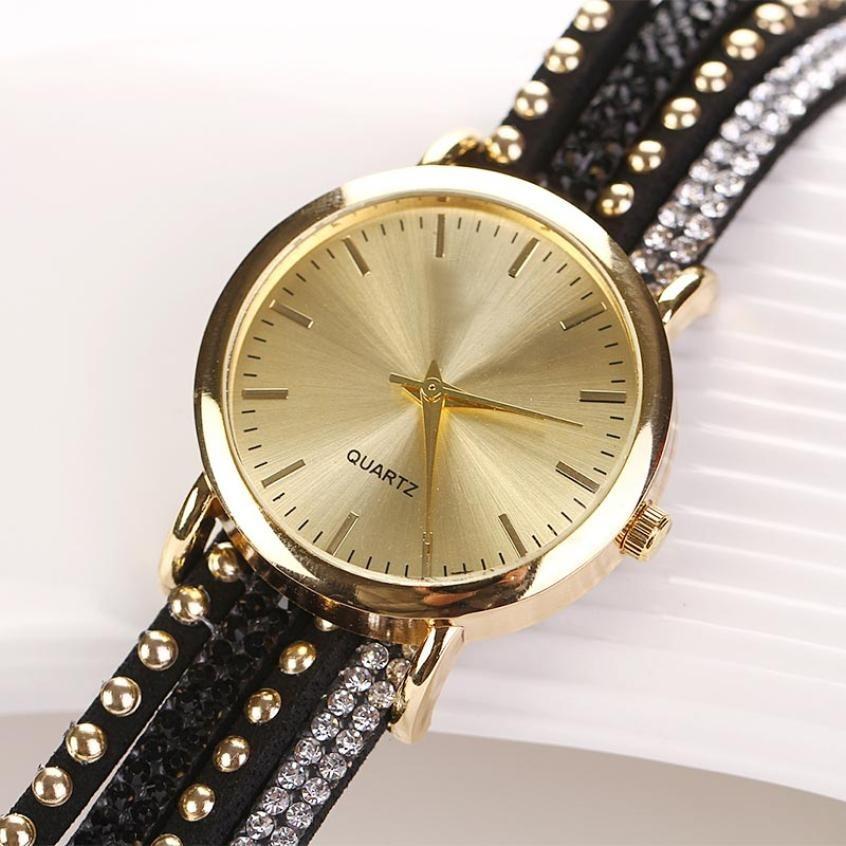 acb7b71ad0b kit 07 relógio pulseira relogio com strass festas atacado. Carregando zoom.