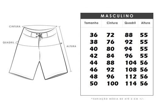 kit 08 bermudas tactel praia masculina surf adulto estampada