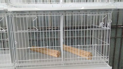 kit 08 gaiolas criadeiras trinca ferro pixarro malha larga.