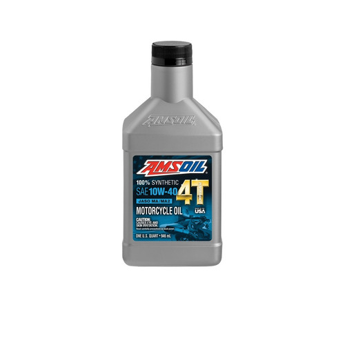 kit 1 aceite 4t 10w-40 + 1 aditivo octanaje boost amsoil