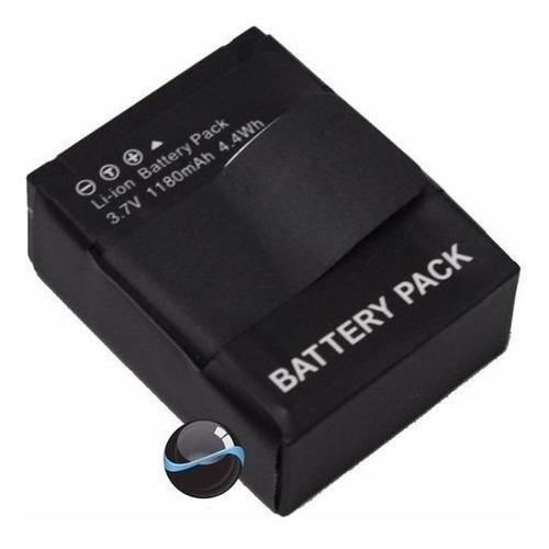 kit 1 bateria + carregador gopro hero 3 e 3+ go pro ahdbt