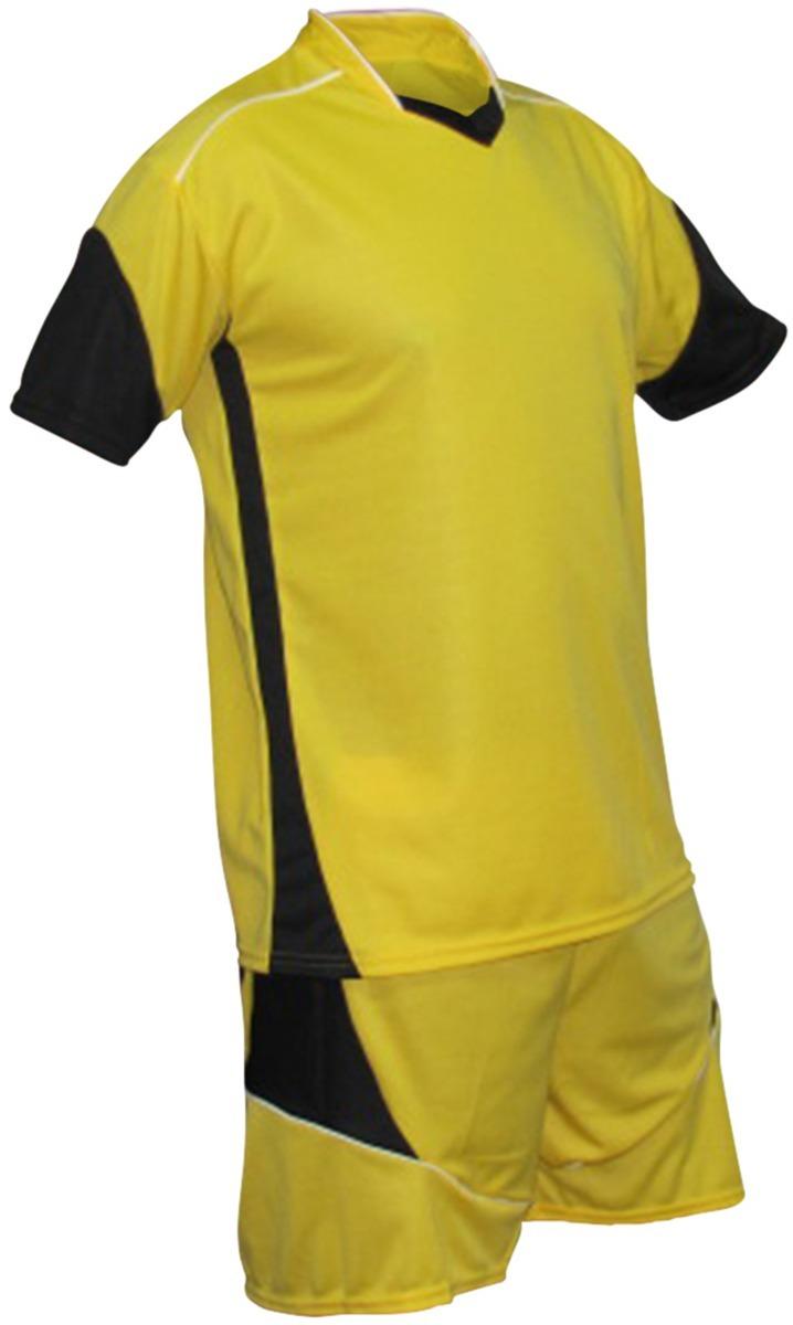 Kit 1 Camisa +1 Calção+ 1 Meião Fardamento Esportivo Futebol - R  59 ... 3fb6a74063d5d