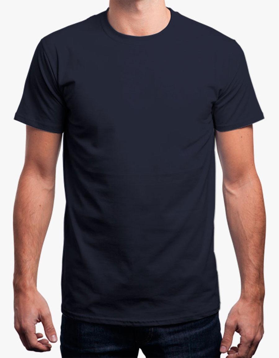 Camisa Cinza Chumbo Básica Lisa 100% Algodão Com Promoção