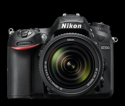 kit 1 completo cámara profesional nikon d7200 24.2 mp 24art.
