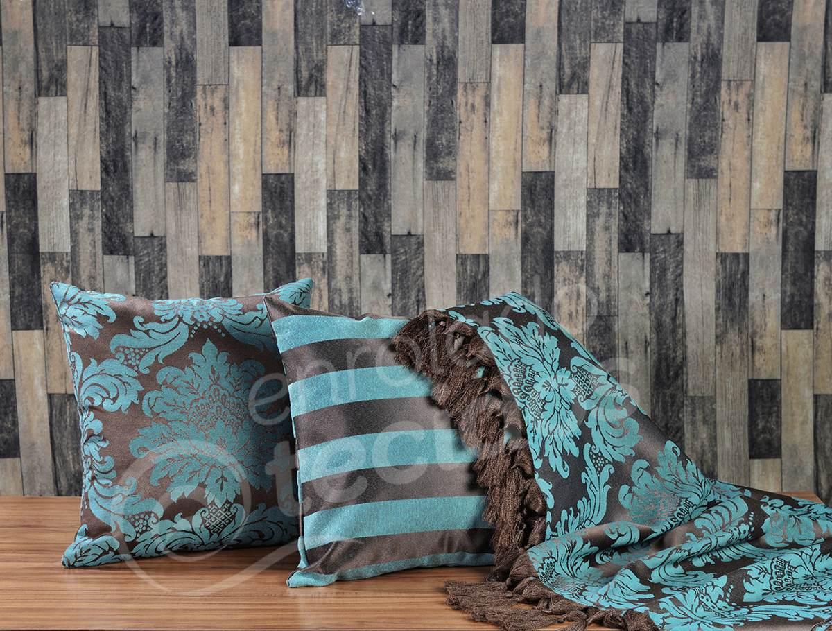 Kit 1 manta para sof 2 capas de almofada diversas for Sofa que vira beliche onde comprar