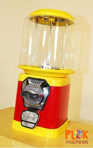 kit 1 máquina vending machine, 1 pedestal + 250 bolinhas 27m