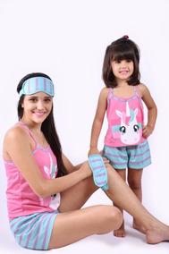 af3f53cb7 Pijama Unicornio Mae E Filha Para 2 Filhas no Mercado Livre Brasil