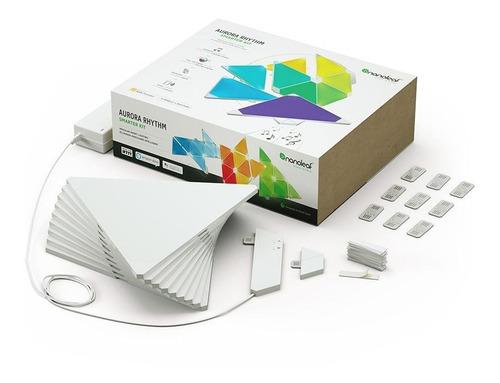 kit 1 nanoleaf aurora smarter rhythm + 2 kit expansion