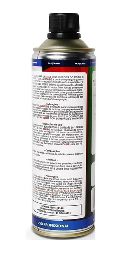 kit 1 perfect clean flex + 1 descarbonizante limpa tbi koube