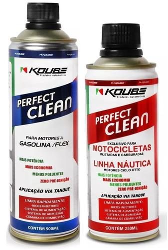 kit 1 perfect clean flex + 1 perfect clean moto koube