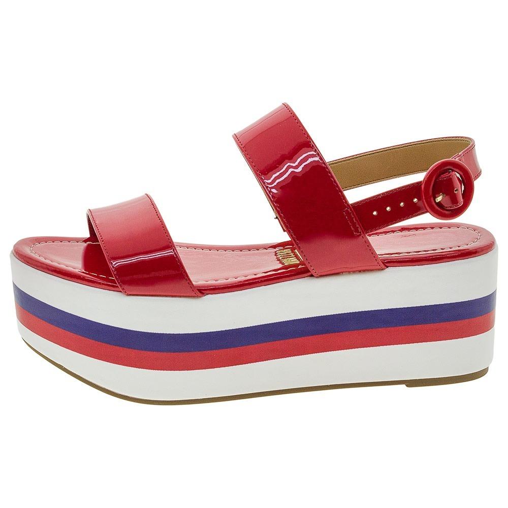 c27307cc3 kit 1 sandália feminina flatform vizzano + 1 necessarie - 04. Carregando  zoom.