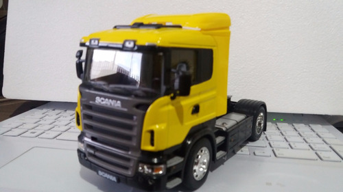 kit 1 scania r470 e 1 r730 welly miniatura 1:32