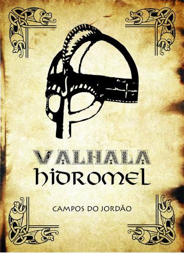 kit: 1 valhala hidromel - tradicional + 1 drinking horn