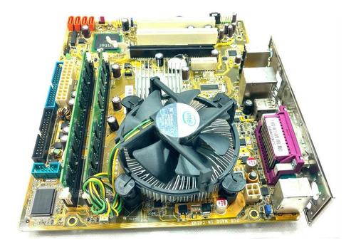kit 1 x ipm31 core 2 duo e7500 3.0ghz 4gb memoria cooler